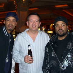 Charles Fulp with Ice Cube and DJ Crazy Toones
