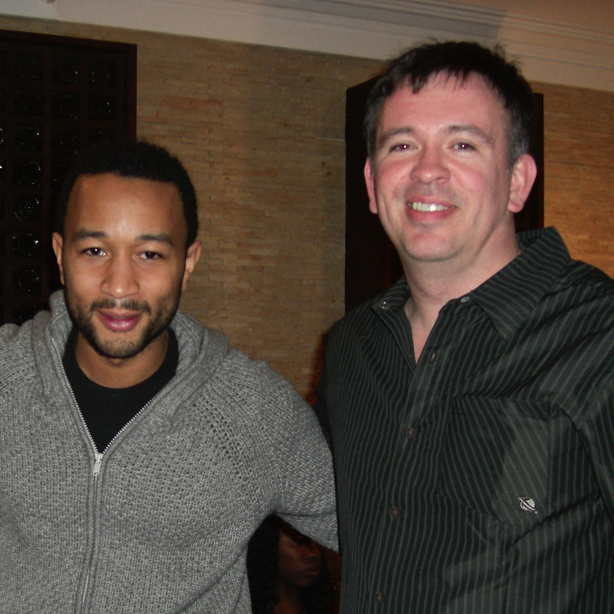 Charles Fulp and John Legend.