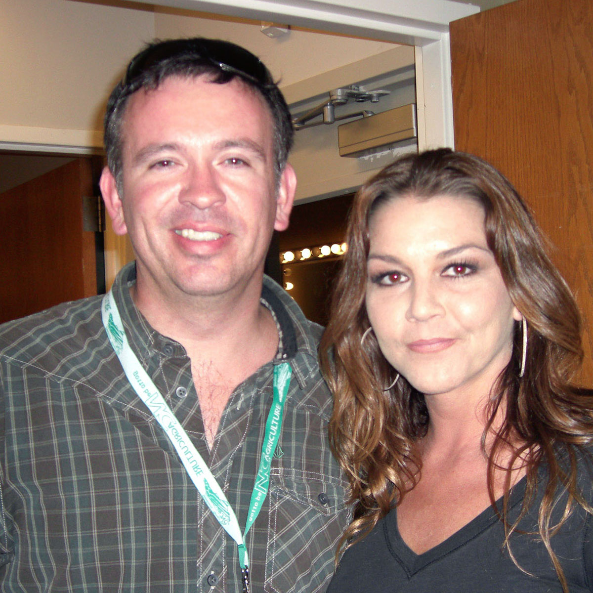 Charles Fulp and Gretchen Wilson.
